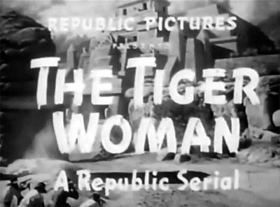 Tiger Woman titles