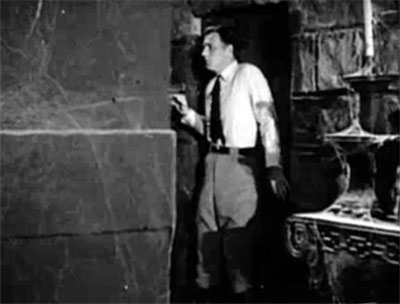 Ace Drummond--crushing walls