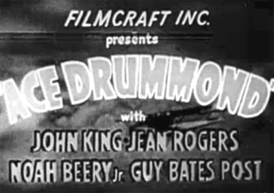 Ace Drummond--titles