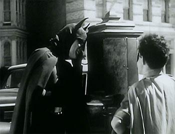 Batman--Batman calls police