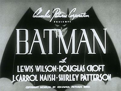 Batman titles