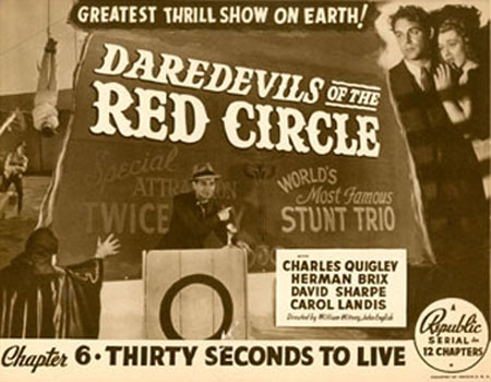 Daredevils of the Red Circle--last