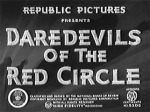 Daredevils of the Red Circle--titles