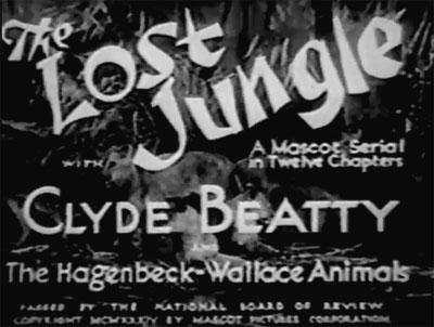 Lost Jungle titles