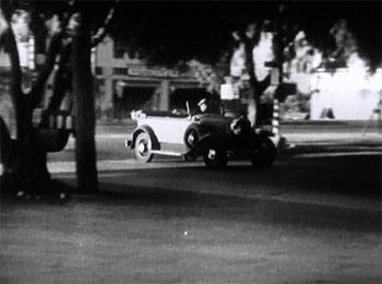 Wolf Dog--car chase