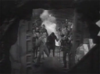 Zorro's Fighting Legion--the cave