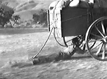 Gordon of Ghost City--wagon drag 1