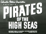 Pirates of the High Seas--titles