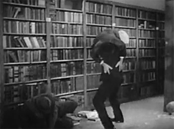 The Secret Code--bookstore fight 2