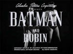 Batman and Robin--titles