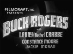 Buck Rogers--titles