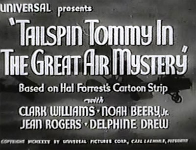 Great Air Mystery--titles