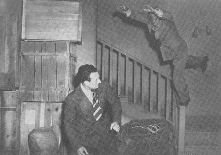 Mysterious Doctor Satan--stunt shot