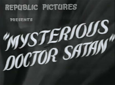 Mysterious Doctor Satan titles