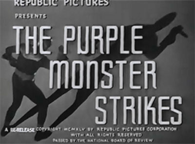 Purple Monster titles
