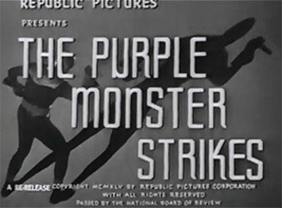 Purple Monster titles