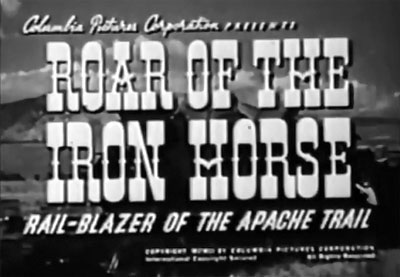 Roar of the Iron Horse--titles