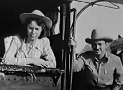 Roar of the Iron Horse--Virginia Herrick and Hal Landon