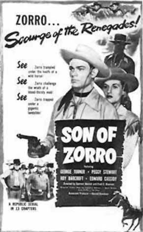 Son of Zorro--poster