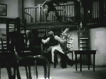 Adventures of Red Ryder--saloon fight