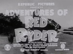Adventures of Red Ryder--titles