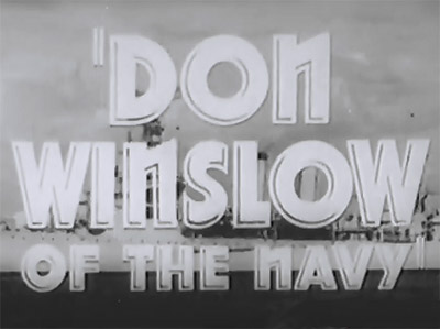 Don Winslow of the Navy--trailer titles
