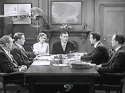 Government Agents vs. Phantom Legion--board meeting