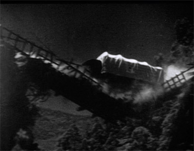 Green Hornet--bridge collapse cliffhanger