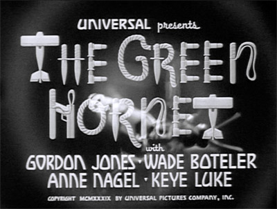 Green Hornet titles