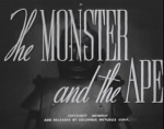 Monster and the Ape titles