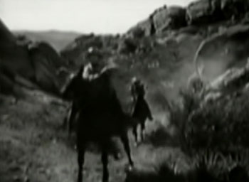 Wild West Days--horseback chase 2