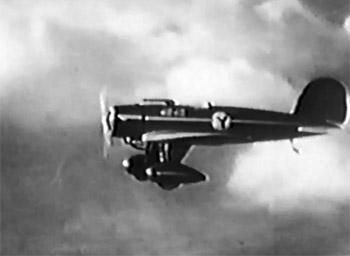 Flying G-Men--Falcon in action 1