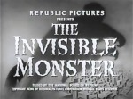 Invisible Monster titles