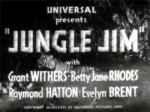 Jungle Jim--titles