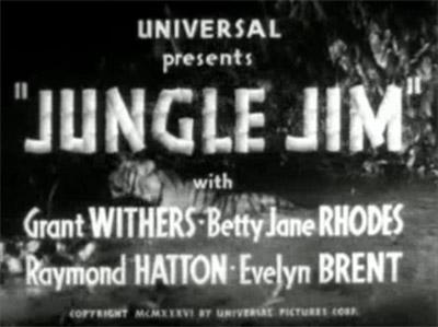 Jungle Jim--titles