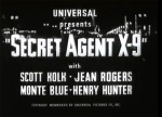 Secret Agent X-9 titles