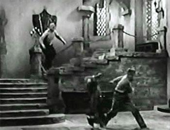 Secret of Treasure Island--hall fight