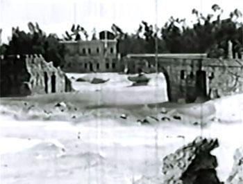 Secret of Treasure Island--main buildings