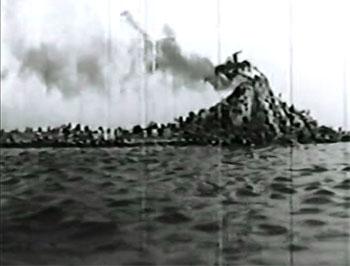 Secret of Treasure Island--volcano