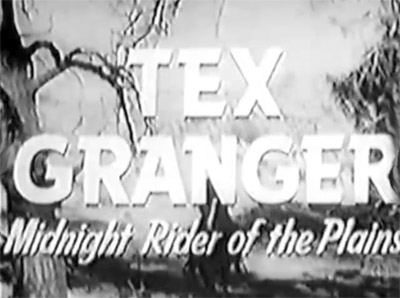 Tex Granger--trailer titles