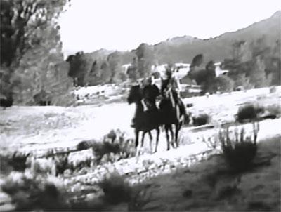 Tex Granger--trailing across Kernville