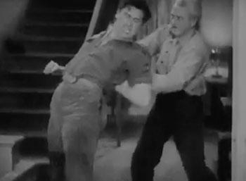 Blake of Scotland Yard--hall fight