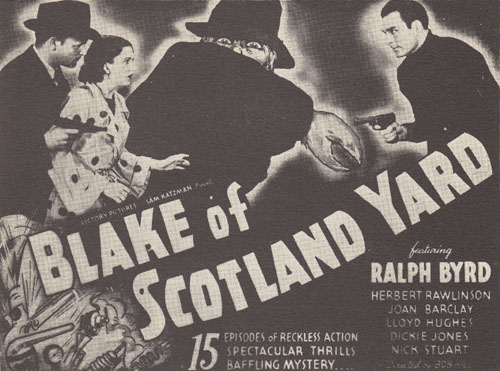 Blake of Scotland Yard--last