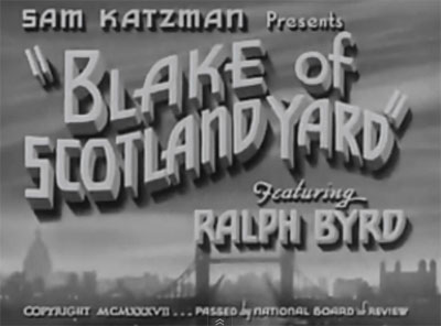 Blake of Scotland Yard--titles