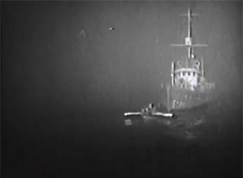 Don Winslow of the Coast Guard--ship in fog