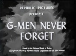 G-Men Never Forget--titles