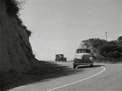 Green Hornet Strikes Again--car chase