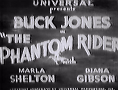 The Phantom Rider titles