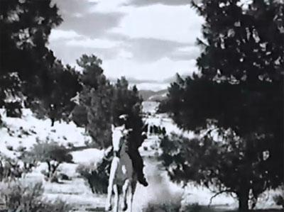 Vigilantes Are Coming--horseback chase