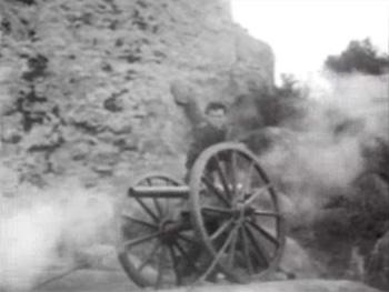 Zorro Rides Again--cannon